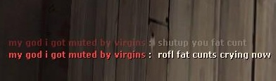 my god i got muted by virgins - 1